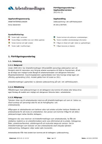Pdf-dokument: Underlag Personliga coacher - Svt