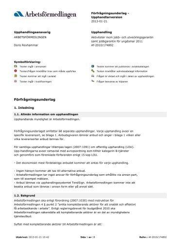 Pdf-dokument: Underlag jobb - Svt