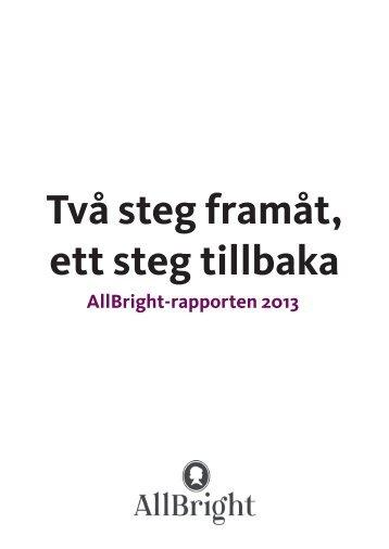 AllBrightrapporten 2013