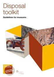 Disposal toolkit (pdf) - Museums Association