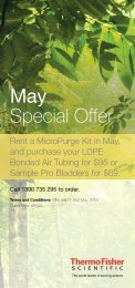 May Special Offer - Thermo Fisher