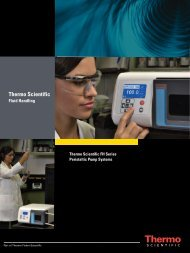 Peristaltic Pumps - Thermo Fisher