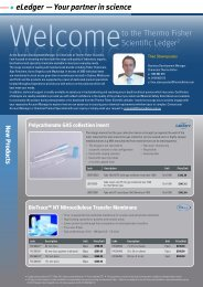 New Products - Thermo Fisher