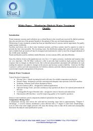 Monitoring Dialysis for Water Treatment Quality - Thermo Fisher