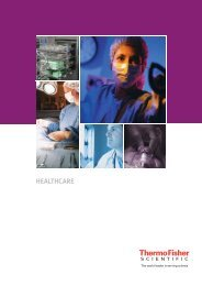 healthcare - Thermo Fisher