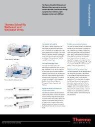 Thermo Scientific Wellwash and Wellwash Versa - Thermo Fisher