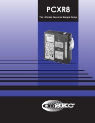 Universal 224-PCXR8 Sample Pump Spec Sheet ... - Thermo Fisher