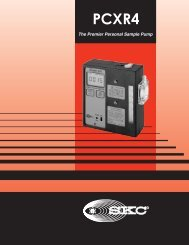 PCXR4 Personal Sample Pump - Thermo Fisher