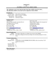 This Addendum is part of the Material Safety Data ... - Thermo Fisher