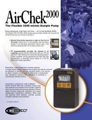 AirChek® 2000 Sample Pump - Thermo Fisher