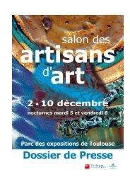 Plan du salon - Parc des Expositions de Toulouse
