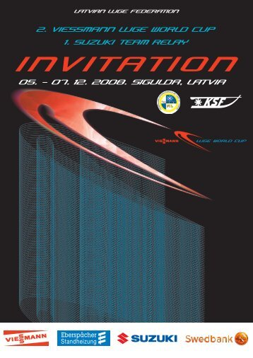 INVITATION - International Luge Federation