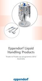 Eppendorf Liquid Handling Products - Thermo Fisher