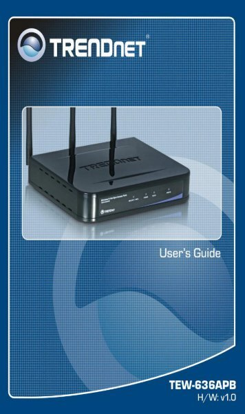 802.11b/802.11.g/802.1x Wireless Access Point - Trendnet