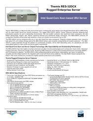 Themis RES-32DCX Rugged Enterprise Server - Unitronix