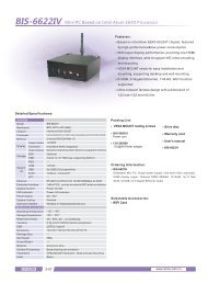 Norco BIS-6622IV Mini PC with Intel Atom E6XX HDMI - Unitronix