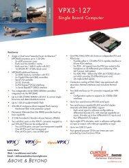 VPX3-127 - Unitronix