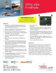 VPX6-684 FireBlade - Unitronix