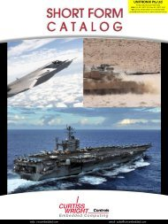 Alternatively, Click Here to view Curtiss Wright's Catalogue - Unitronix