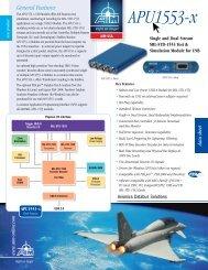 AIM APU1553-x USB 1-2Channel - Unitronix