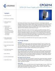 CPC6314 Product Sheet - Unitronix
