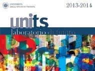 Presentazione Ateneo - Università degli Studi di Trieste