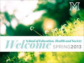 School of Education, Health and Society - Units.muohio.edu