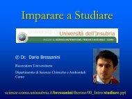Come studiare - Università degli Studi della Tuscia