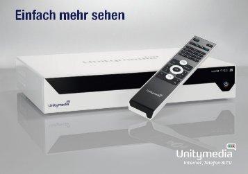Einfach mehr sehen - Unitymedia