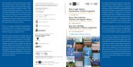 Dépliant / Flyer (Pdf) - Gruppo di Studio sulle Politiche Linguistiche