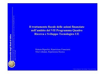 iva - Università degli studi di Udine