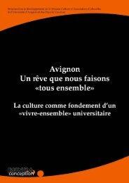 l'Observatoire de Vie Étudiante - Université d'Avignon et des Pays ...