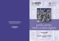 Brochure Pede certo - Università degli studi di Udine