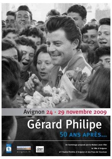 Progr.G. Philipe Def.:Mise en page 1 - Université d'Avignon et des ...