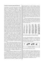 1 Il sistema di numerazione posizionale babilonese Come abbiamo ...