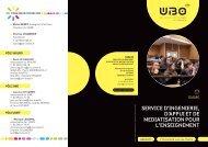 Télécharger la plaquette du SIAME en pdf - Université de Bretagne ...