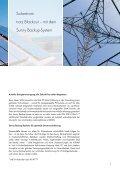 Sunny Backup-System - Solarstrom auch bei Netzausfall - Seite 3