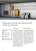 Sunny Backup-System - Solarstrom auch bei Netzausfall - Seite 4