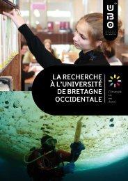 Téléchargez la brochure recherche - Université de Bretagne ...