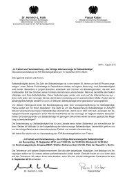 Einladung / Ablauf Diskussionsveranstaltung - FDP ...