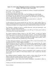 Zápis z II. výroční schůze Občanského sdružení za privatizaci a ...
