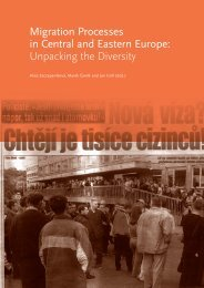 Migration Processes in Central and Eastern Europe - Multiple Choices