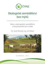 Ekologické zemědělství bez mýtů - Bioinstitut, o.p.s.