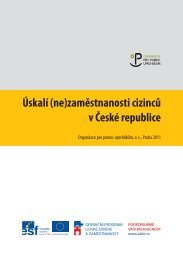 Úskalí (ne)zaměstnanosti cizinců v České republice