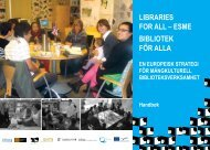 LIBRARIES FOR ALL – ESME BIBLIOTEK FÖR ALLA