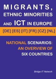 ETHNIC MINORITIES - LMI - Universitat de Barcelona
