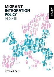 migrant integration policy index iii - Cizinci v České republice