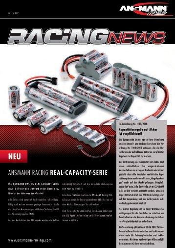 ANSMANN Racing Real-capacity-Serie