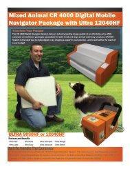 Mixed Animal CR 4000 Digital Mobile Navigator ... - Black Hills Portal