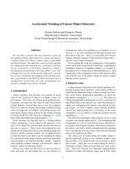 Accelerated Training of Linear Object Detectors - Structured Prediction
